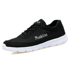 Fashion Men Casual Shoes Breathable Mesh Lightweight Running Sneakers Big Size