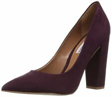 Steve Madden Womens Primpy Leather Pointed Toe Classic Pumps