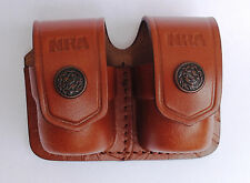 Leather Double Speed Loader Case - (038NRA) - QUANTITY OF 10