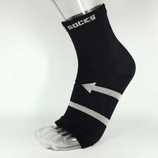 1Pc Anti Fatigue Compression Copper Foot Sleeve Relief Heel Pain Ankle Socks S L