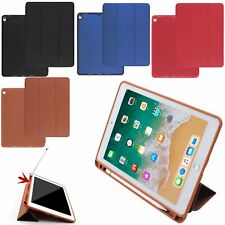 "PU Funda Folio Carcasa Cover Case para Apple Pencil & iPad Pro 12.9"" 10.5"" 2017"