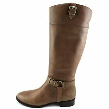 INC International Concepts Womens Fedee WC Leather Closed Toe Knee High Fashi...