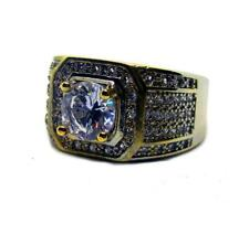 Classic size Millionaires HipHop Bling Mens Gold Plated Ring