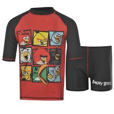ANGRY BIRDS:SUNSAFE SWIM SET,50+,3/4YR,NEW WITH TAGS