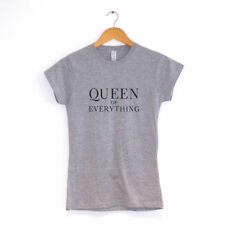 Regina di Everything T-Shirt da Donna Vari Colori Hipster Vestiti