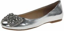 Betsey Johnson Womens SB-EVER Leather Closed Toe Slide Flats