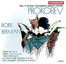 Piano Music-Vol. 7 - S. Prokofiev (1992, CD NUOVO) Berman*Boris (PNO)