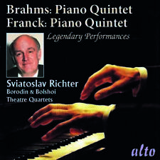 Brahms: Piano Quintet Op.34 & Franck: Piano Quinte - Sviatoslav (2018, CD NUOVO)