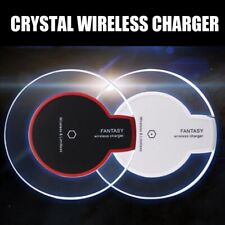 Slim Qi Wireless Charger Pad for Samsung Galaxy S6 S7 S8 Note 8 iPhone X 8 Plus