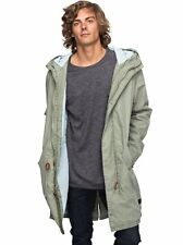 Quiksilver™ Benner - Hooded Military Parka - Parka Militar con Capucha - Hombre