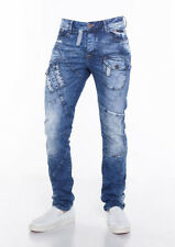 Cipo e Baxx COTONE JEANS - CD349 slim fit blue jeans