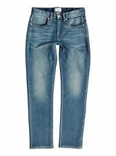 Quiksilver™ Revolver Stormy Blue - Straight Fit Jeans - Chicos