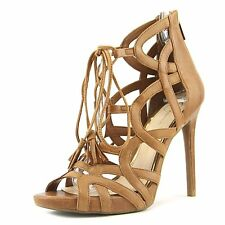 Jessica Simpson Womens Racine Leather Open Toe Casual Strappy Sandals
