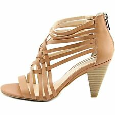 INC International Concepts Womens Garoldd Leather Open Toe Ankle Strap Classi...