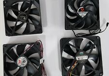 12cm and 14cm gaming pc case fans, job lot NZXT Cooler Master and Antec 2 speed