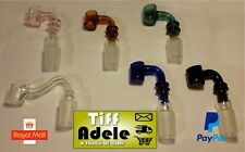 18mm Glass Nail Banger Male Attachment Rig 3mm Think Carb Cap Dabber