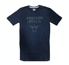 T-SHIRT NBA TEAM LOGO CHICAGO BULLS BLACK BLACK