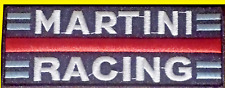 MARTINI RACING. Patch écusson thermocollant aufnäher toppa embroidered.