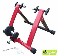 MAGNETIC INDOOR BICYCLE BIKE TRAINER EXERCISE STAND 5 RESISTANCE LEVEL MODEL QR
