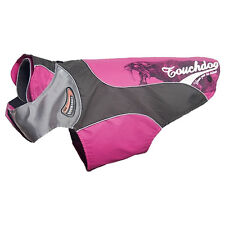 Karlie Touchdog cane cappotto Outdoor 2 FUCSIA / Marrone, varie misure, NUOVO