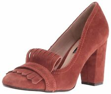 STEVEN by Steve Madden Womens Jade Leather Round Toe Classic Pumps