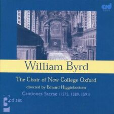 Byrd: Cantiones Sacrae 1571 1 - Choir Of New College Oxford (2008, CD NUOVO)
