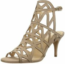 Vince Camuto Womens Prisintha Leather Open Toe Special Occasion Strappy Sandals