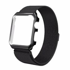Bracelet Watch Band Strap with Metal Case Replacement for Apple iWatch 42 MM
