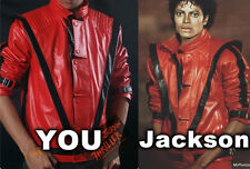 Michael Jackson leather jacket - Red Thriller jacket (Collector's item)