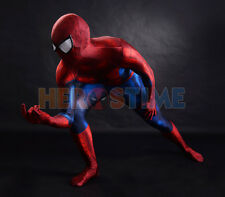 Classic Spiderman Outfit - Superhero Costume Cosplay - 3D Shade Pattern Spandex
