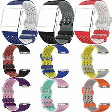 Pulsera Silicona Banda Correa Watch Band para Fitbit Ionic Deportes Smart Watch