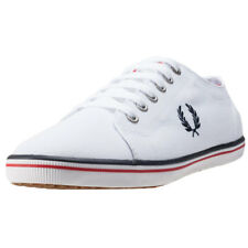 Fred Perry Kingston Femmes Baskets White Neuf Chaussure