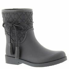 Jessica Simpson Womens RACYN Rubber Closed Toe Mid-Calf Rainboots