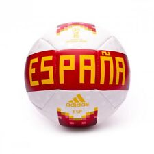 Pallone adidas OLP 18 Spagna White-Red-Bold Gold