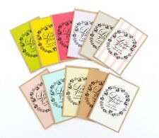 10 PERSONALISED LET LOVE GROW SEED PACKETS ENVELOPES WEDDING ANNIVERSARY PARTY