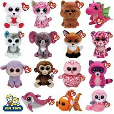 TY BEANIE BOOS 15.2Cm - TY BOO PELUCHE ORSACCHIOTTO - NUOVO Peluche