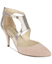 Marc Fisher Womens Kabriele Leather Pointed Toe D-orsay Pumps