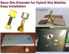 Hybrid Double Dual Sim-card Adapter Micro SD Nano SIM Extension Adapter Android
