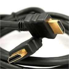 1M -10m LONG HDMI Cable High Speed With Ethernet v1.4 FULL HD 3D ARC GOLD BLACK