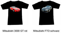 Camiseta con MITSUBISHI AUTOMÓVIL - Fruit of the Loom S M L XL 2xl 3xl