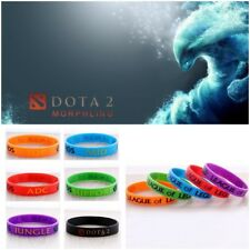 League of Legends LOL DOTA 2 Silicona PULSERAS MANO CATENARIA Temática Pulseras