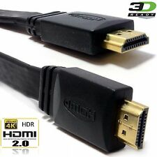 1M 1.5M 2M 3M 5M *Premium* HDMI V1.4 Gold Cable *High Speed+Ethernet* 2k 4k Res
