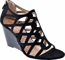 Adrienne Vittadini Womens Alby Open Toe Casual Strappy Sandals