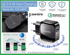 Powstro Qualcomm 3.0 Phone Charger Quick Charge, USB Charger for Smartphones