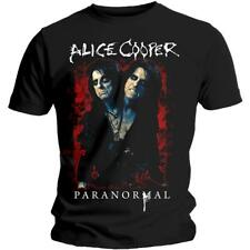 OFFICIAL LICENSED - ALICE COOPER - PARANORMAL T SHIRT - GOTH ROCK