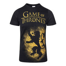 T Shirt Game Of Thrones House Lannister Sigil Merchandise Cinema Casual Unisex