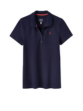 Joules Pippa Womens Polo Shirt - French Navy