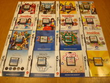 Nintendo DS Games - OVER 40 TITLES WITH INSTRUCTION BOOKLETS - Select From List