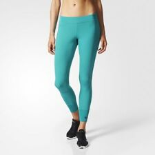 BS2878 Women's Adidas STELLASPORT Performance 7/8 TIGHT Pants Leggings UK S-M