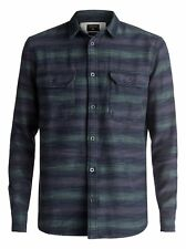 Quiksilver™ Dusky Town Flannel - Long Sleeve Over Shirt - Hombre